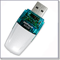 Самая большая флешка USB Flash drive Transcend JetFlash V20 64Gb
