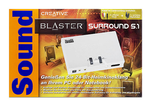 ������ ������� �������� ����� ��� �������� - Creative SB Surround 5.1 (�������)
